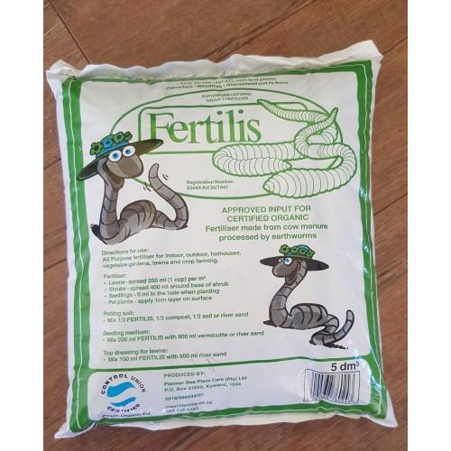 Fertilis Earthworm Casting