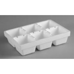 6 Cell Seedling Tray   (5 Pack)