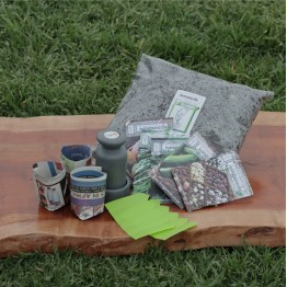 Pot Maker & Spring-Summer Petite Seed Combo