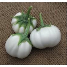 Thai White Ribbed Eggplant