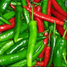 Long Slim Cheyenne Pepper