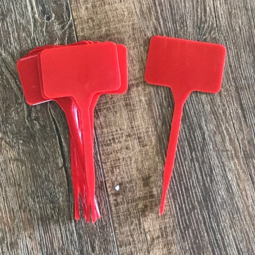 Plant Marker Small Red