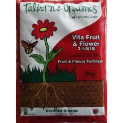 Talborne Vita Fruit & Flower 3:1:5 Certified Organic